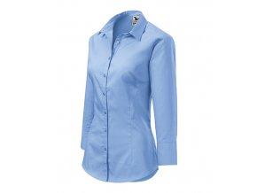 Style košile dámská nebesky modrá