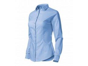 Style LS košile dámská nebesky modrá