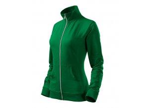 Viva mikina dámská středně zelená
