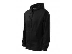 Trendy Zipper mikina pánská černá