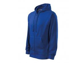 Trendy Zipper mikina pánská královská modrá