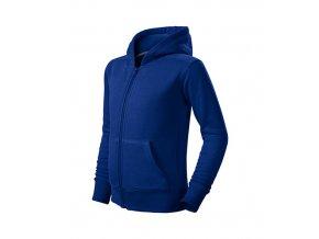 Trendy Zipper mikina dětská královská modrá