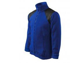 Jacket Hi-Q fleece unisex královská modrá