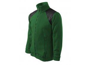 Jacket Hi-Q fleece unisex lahvově zelená