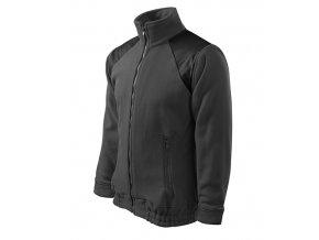 Jacket Hi-Q fleece unisex ocelově šedá