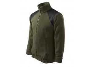 Jacket Hi-Q fleece unisex military