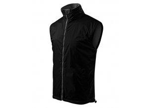 Body Warmer vesta pánská černá