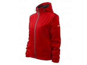 Cool bunda dámská červená