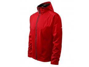 Cool bunda pánská červená