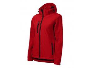 Performance softshellová bunda dámská červená
