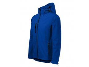 Performance softshellová bunda pánská královská modrá