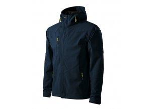 Nano softshellová bunda pánská námořní modrá