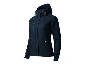 Nano softshellová bunda dámská námořní modrá