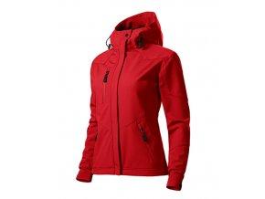 Nano softshellová bunda dámská červená