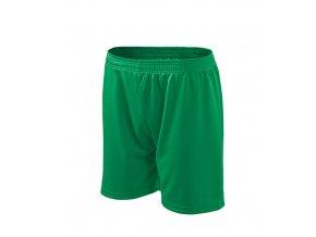 Playtime šortky pánské/dětské středně zelená