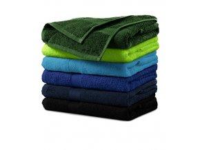 Terry Towel ručník unisex černá
