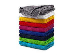Terry Towel ručník unisex červená