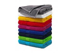 Terry Towel ručník unisex fuchsia red