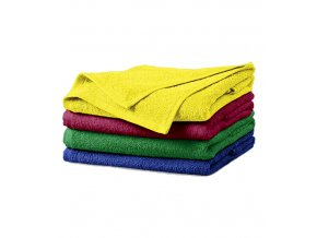 Terry Towel ručník unisex marlboro červená