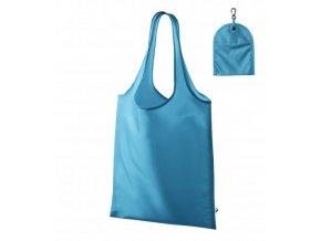 Smart nákupní taška unisex tyrkysová