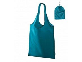 Smart nákupní taška unisex tmavý tyrkys