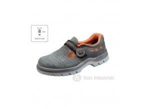 Riga XW sandále unisex tmavě šedá