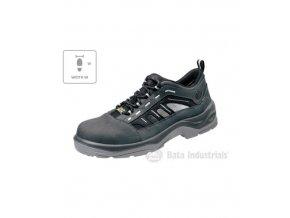 Tigua W sandále unisex tmavě šedá