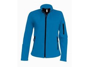 K400 dámská softshellová bunda modrá (Velikost/varianta 4XL)
