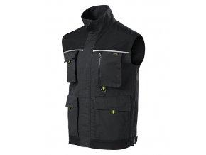 Ranger pracovní vesta pánská ebony gray