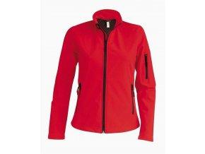 K400 dámská softshellová bunda červená (Velikost/varianta 4XL)