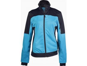 K416 dámská softshellová bunda modrá (Velikost/varianta 4XL)
