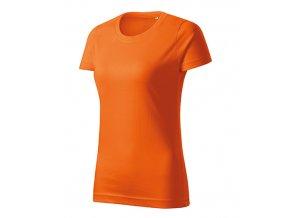 Basic Free tričko dámské oranžová