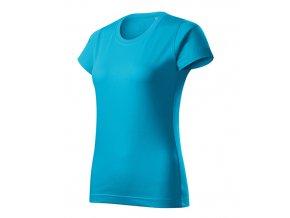 Basic Free tričko dámské tyrkysová
