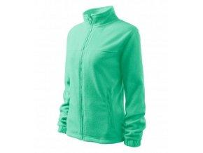 Jacket fleece dámský mátová