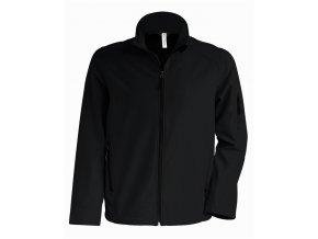 K401 pánská softshellová bunda černá (Velikost/varianta 4XL)