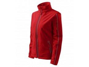 Softshell Jacket bunda dámská červená