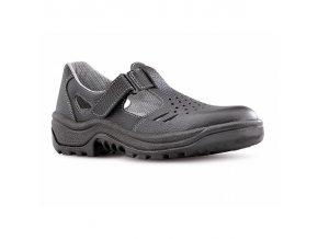 ARMEN  900 6060 S1 SRC pracovní sandál černý