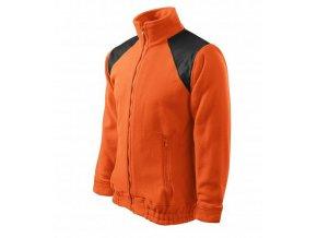 Jacket Hi-Q fleece unisex oranžová