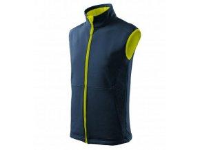 Vision softshellová vesta pánská námořní modrá