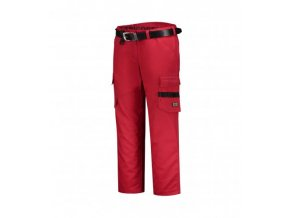 Work Pants Twill Women pracovní kalhoty dámské červená
