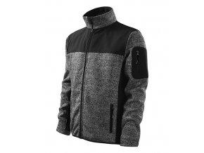 MALFINI CASUAL 550 softshellová bunda šedá (Velikost/varianta 3XL)