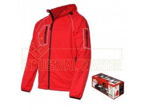 THINY pánská softshellová bunda červená (Velikost/varianta 3XL)