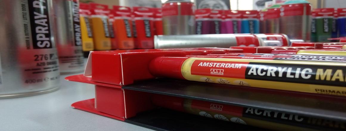 AMSTERDAM akrylové barvy