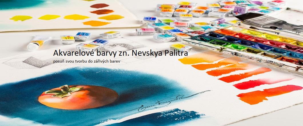 Akvarelové barvy Nevskaya Palitra