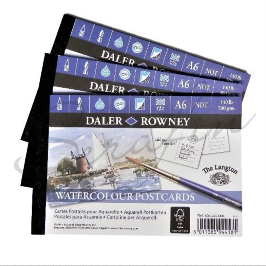 Blok pohlednice