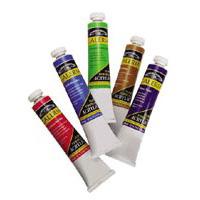 Akrylové barvy v tubě