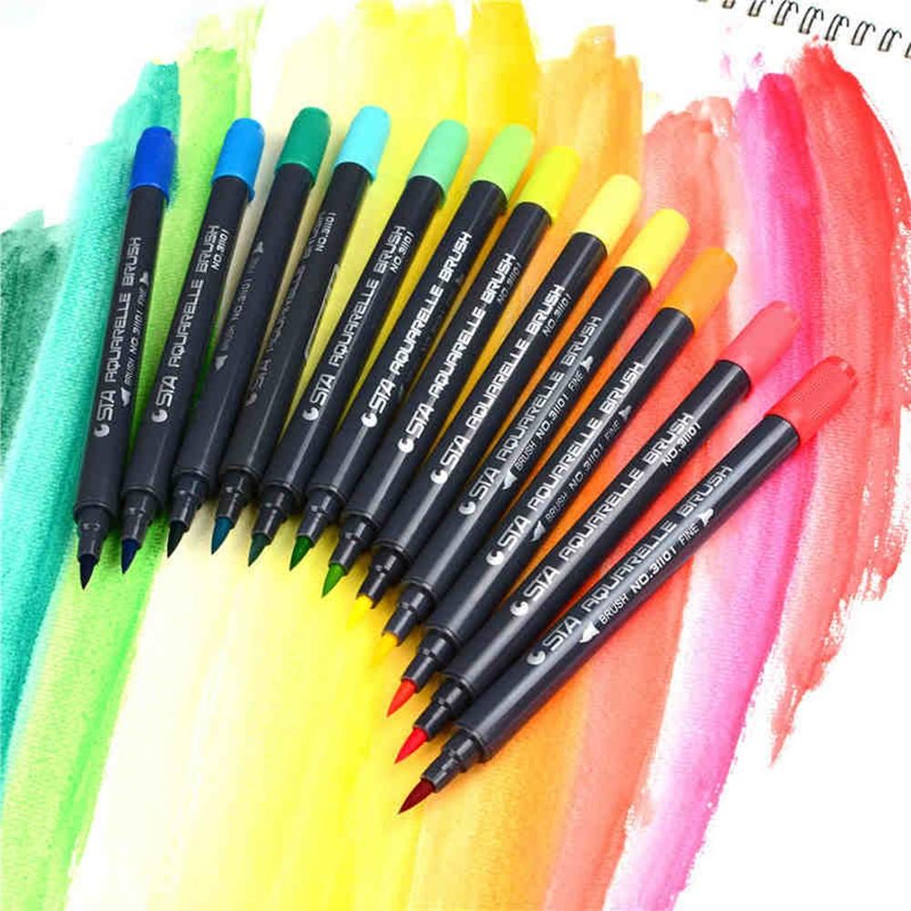 Akvarelové markery