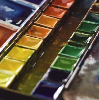 Barvy akvarelové