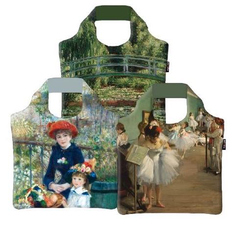 Bavlněné tašky, Ekologické skládací tašky ECOZZ