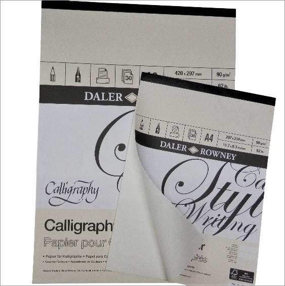 Kaligrafický papír